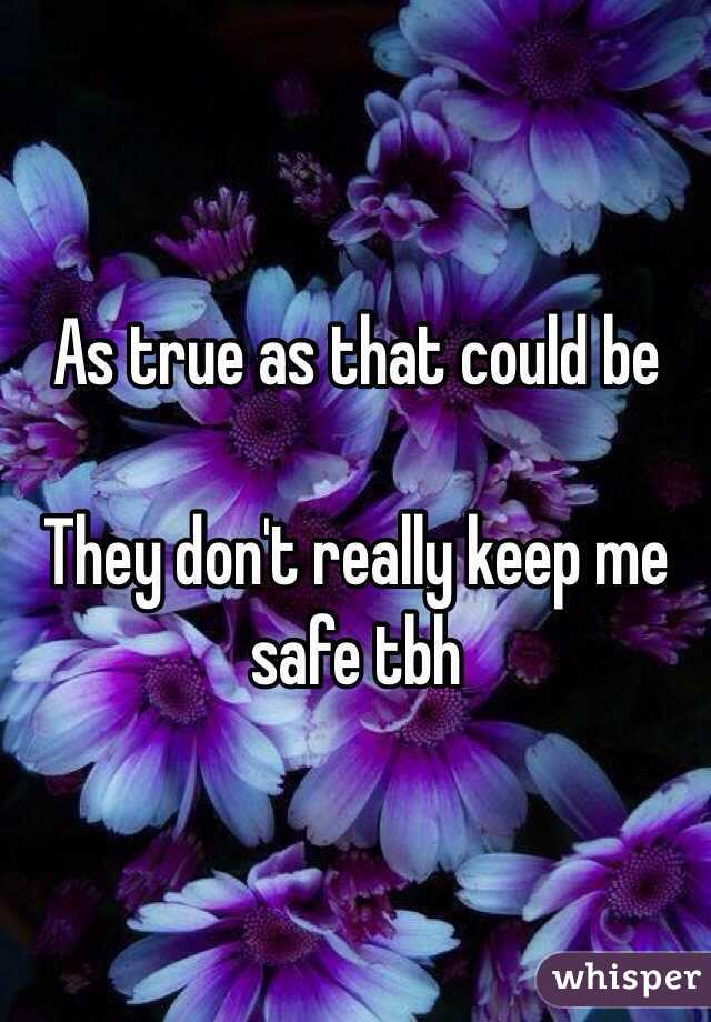 Is tbh safe