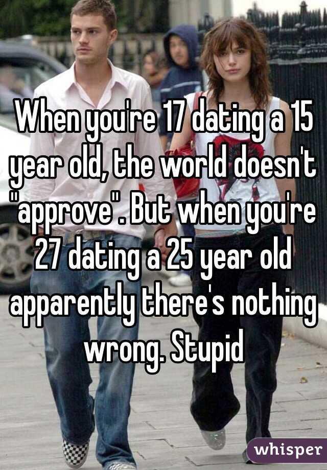 Starting dating at 25