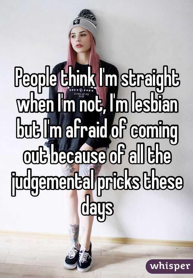 i think im lesbian