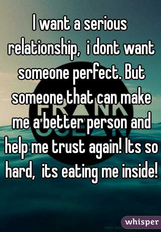 A Guy A How Make Relationship Want To Serious