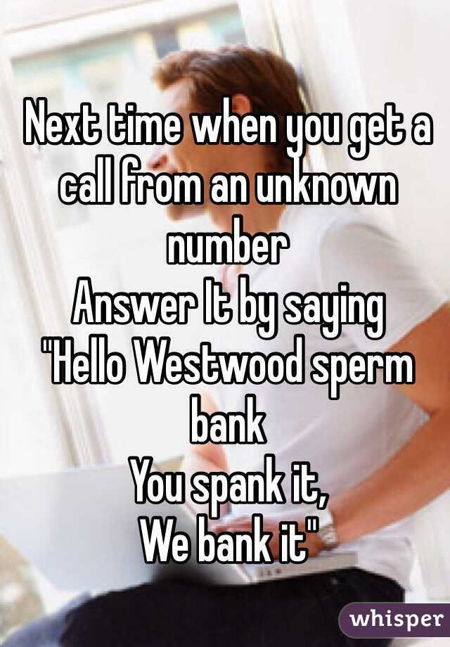 Next time when you get a call from an unknown number Answer It by