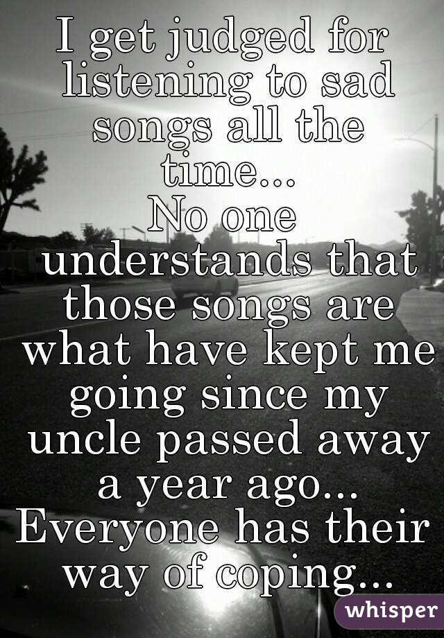 Songs about going away