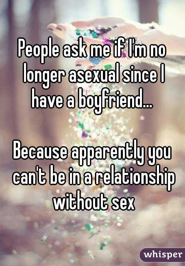 What if i never have sex