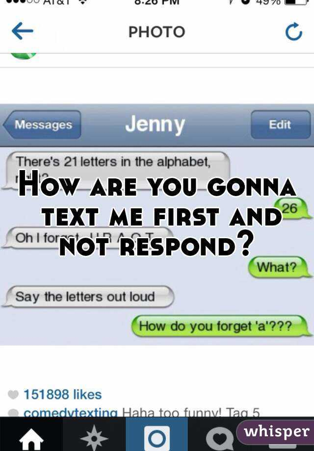 How To Respond To How Are You Text