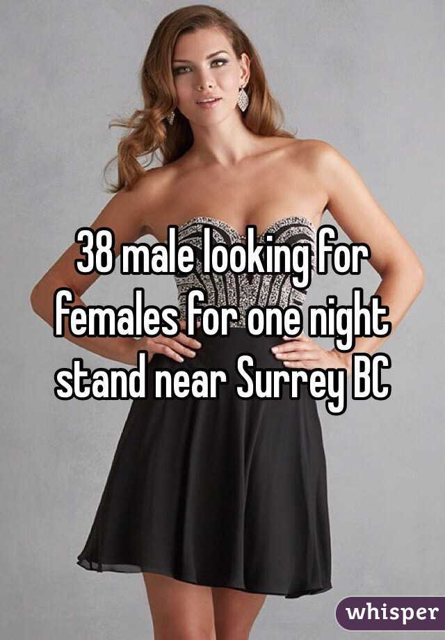 38 male looking for females for one night stand near Surrey BC