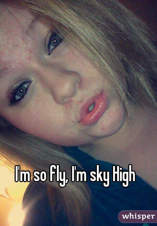 I'm so fly, I'm sky High
