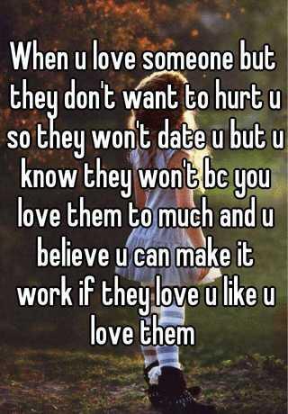 How do u know if someone loves u