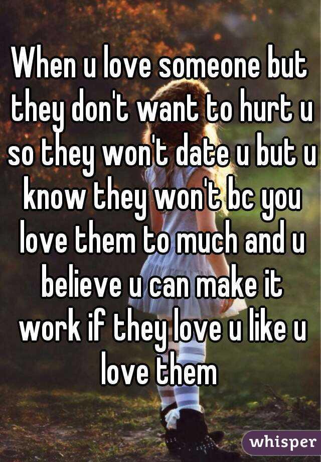 tell someone u love them