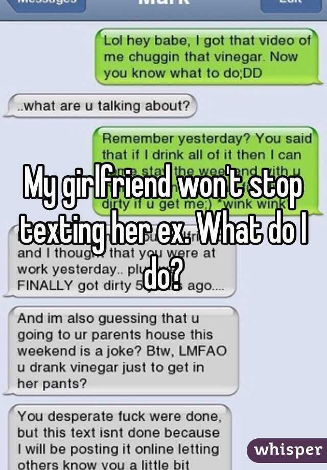 My boyfriend stopped texting me