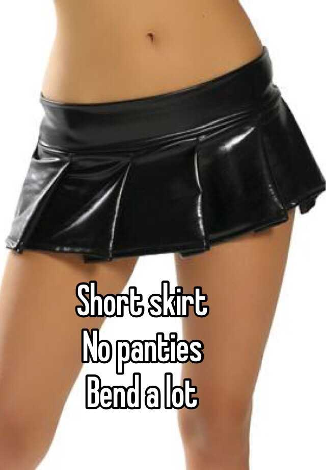 Micro mini skirts no panties public consider