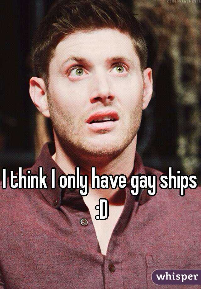 I think I only have gay ships :D