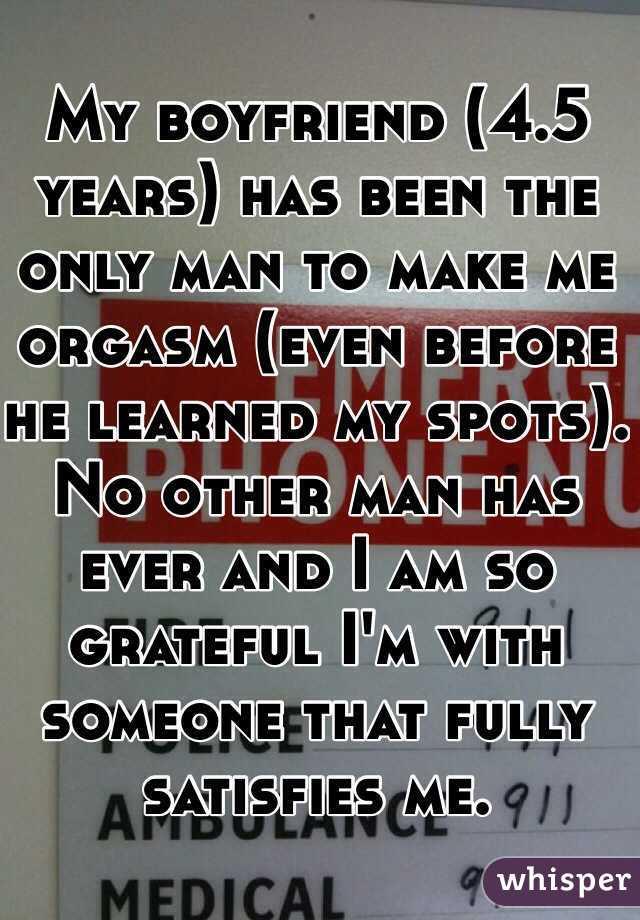 boyfriend my orgasm i before