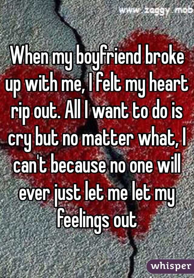 me and my fiance broke up
