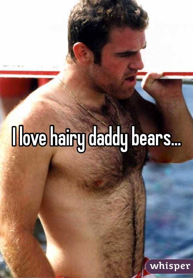 Hairy bears love each other