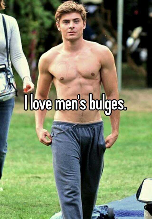 Men bulges pics