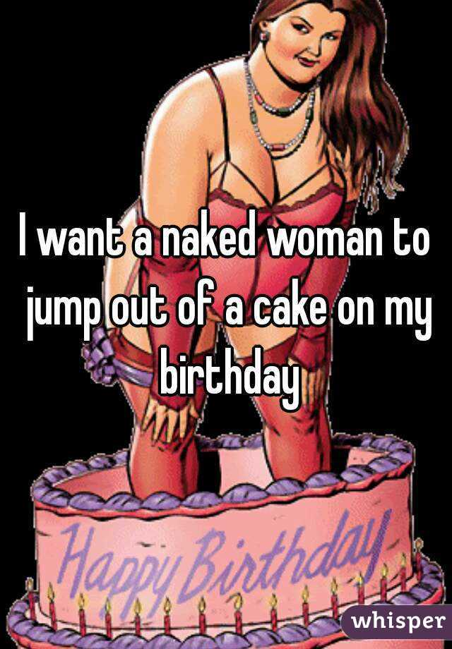 Female naked birthday pictures