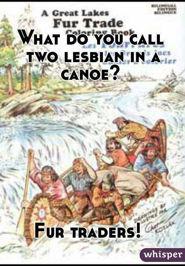 fur trader Lesbian