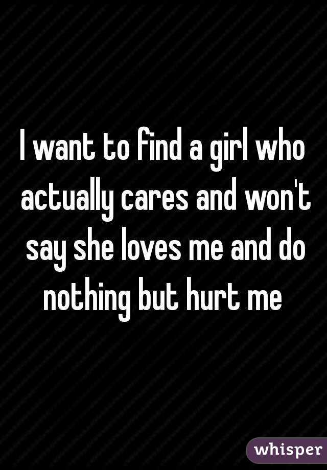 Find a girl who