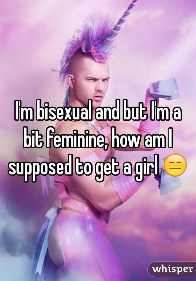 Feminine bisexual pictures