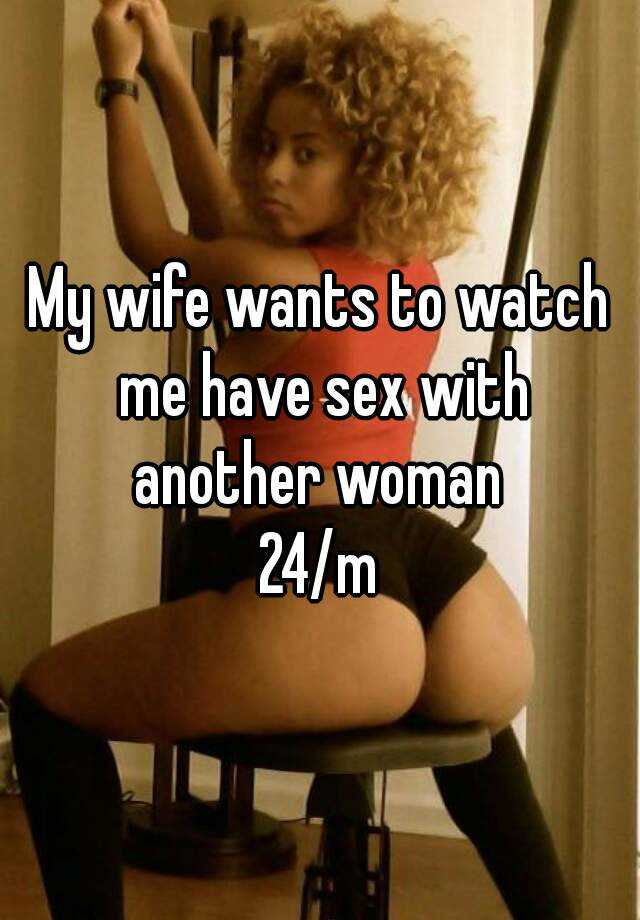 Wife try sex woman