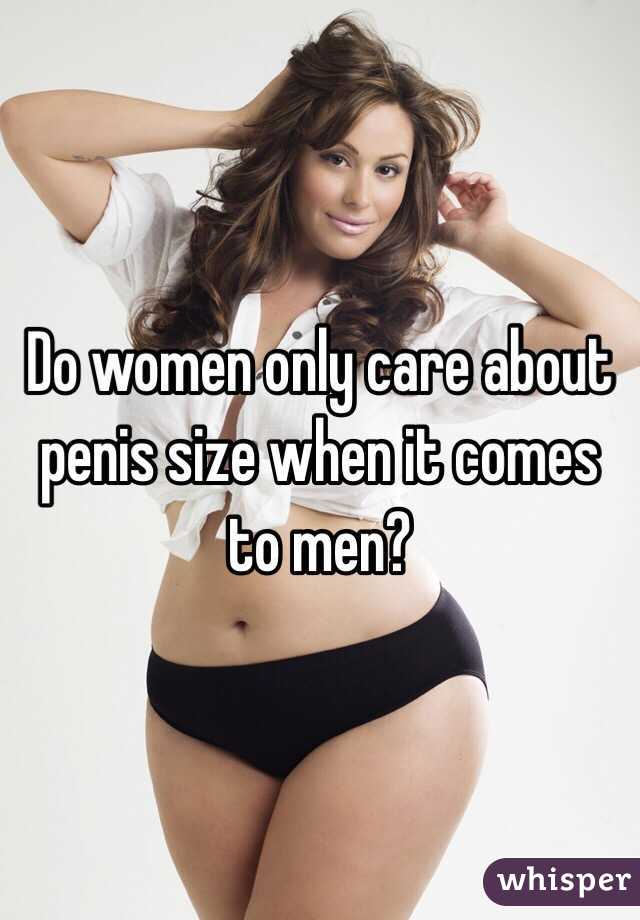Girls and dick size