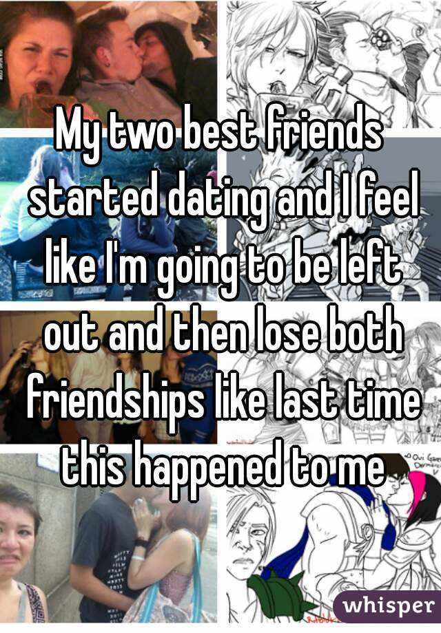 going from long time friends to dating