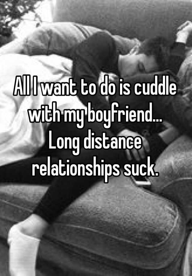With my boyfriend