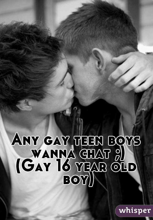 Chat guy teen