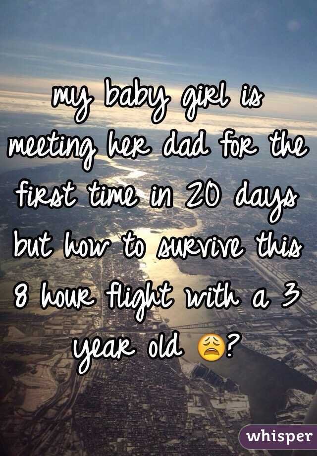Meeting her for the first time