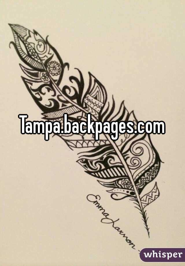 Backpages com tampa
