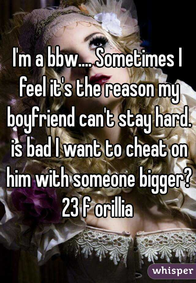 Bbw want it hard