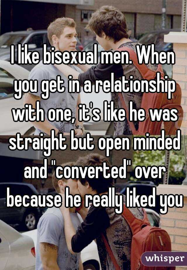 Are all men bisexual