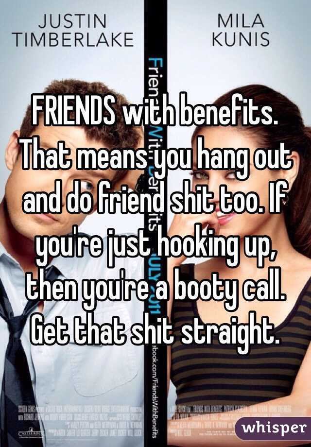 Hook up with a friend for fun