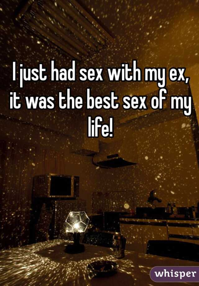 Best sex with my ex