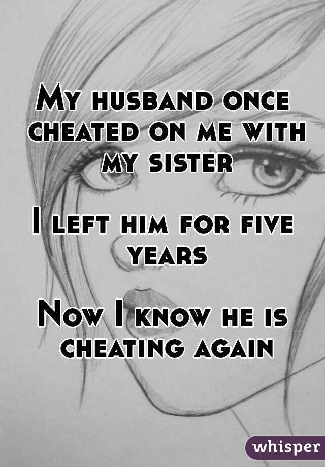 Will My Husband Cheated On Me Again