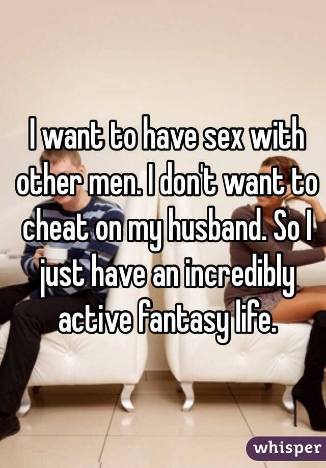 Want to have sex with others