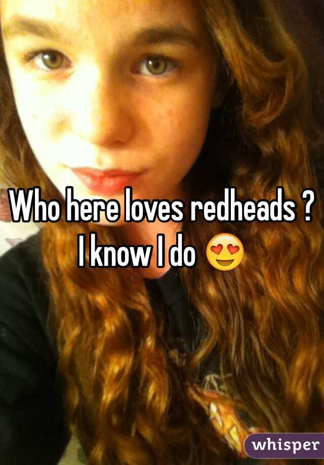 Who here loves redheads ? I know I do 😍