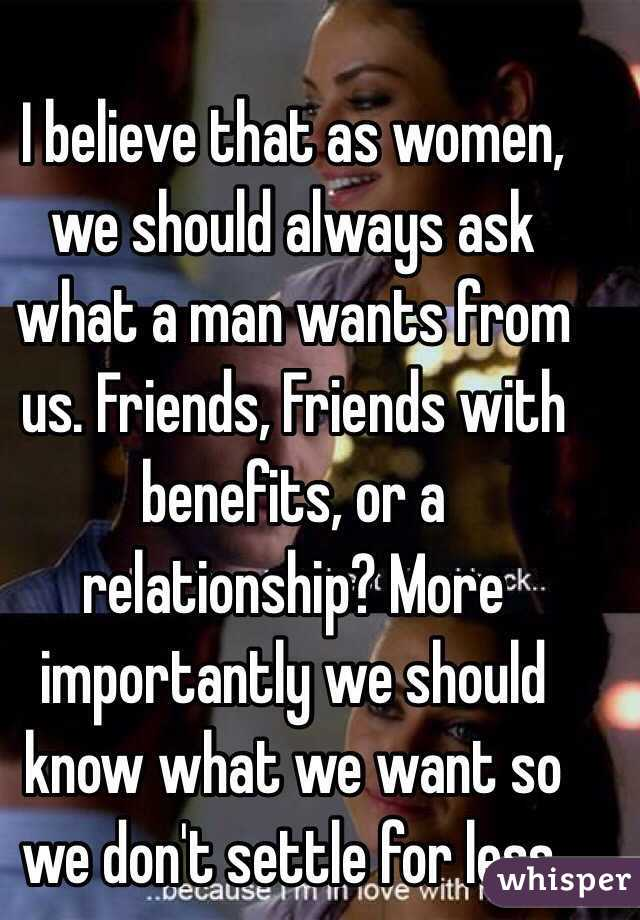 Why women settle for less in relationships