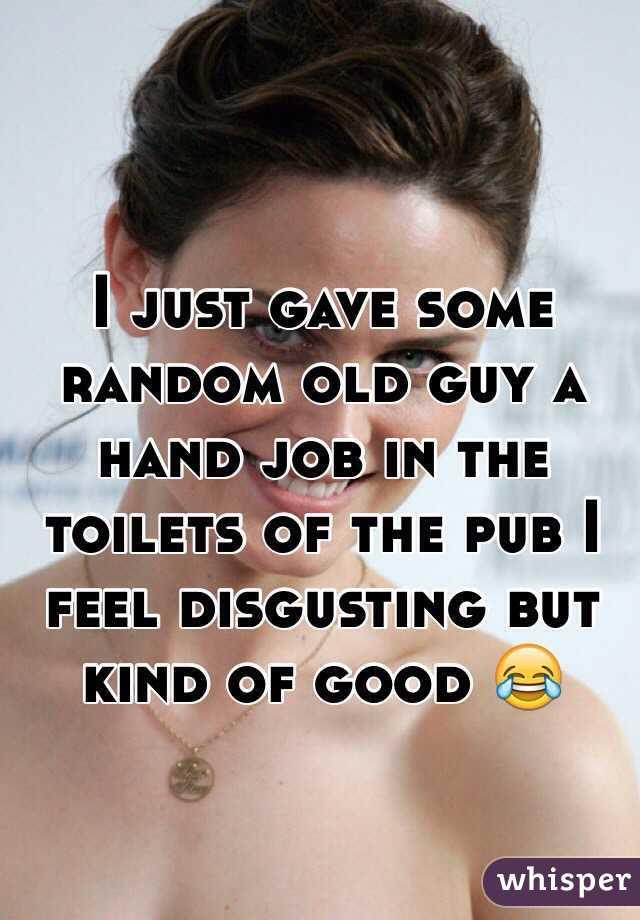 Sexy lady, I gave a hand job story