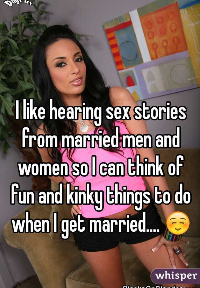 Sex stories married woman
