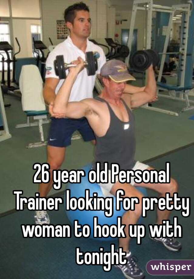 Hook up with personal trainer