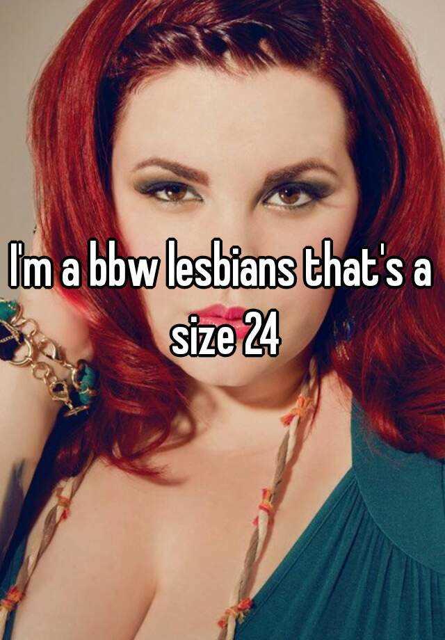 Two BBW Lesbians