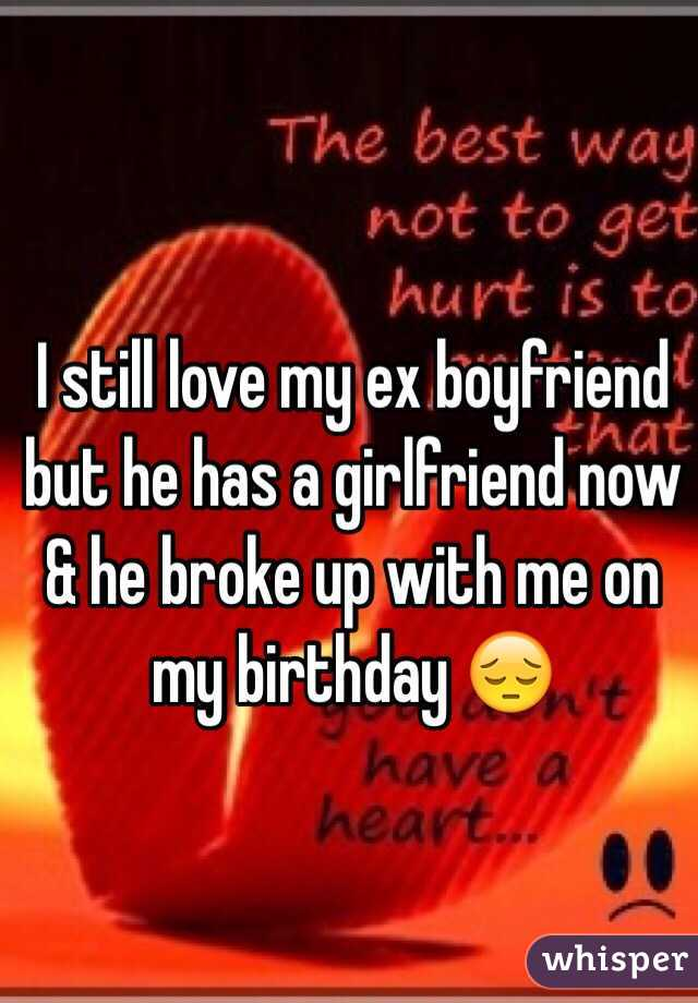 I Love My Ex And My Girlfriend