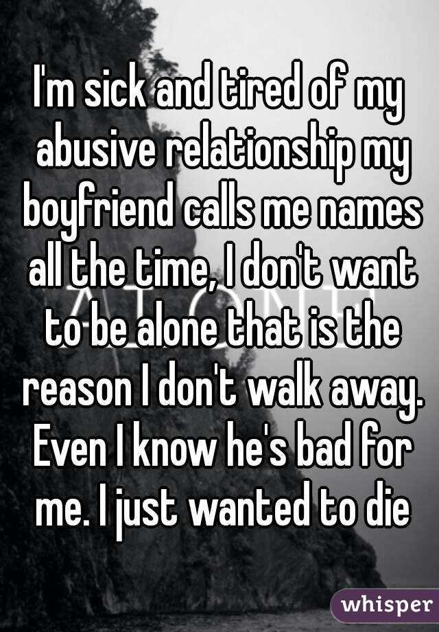 Should I Walk Away From My Relationship