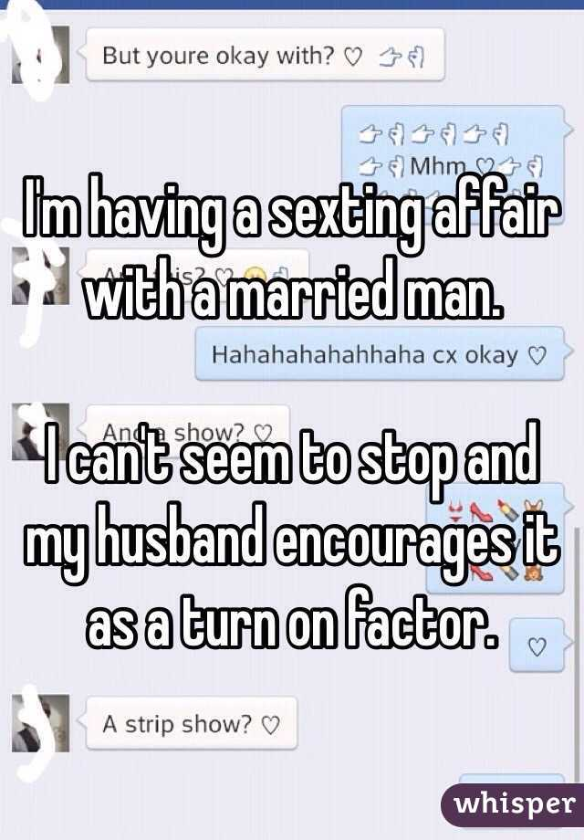 Sexting married man
