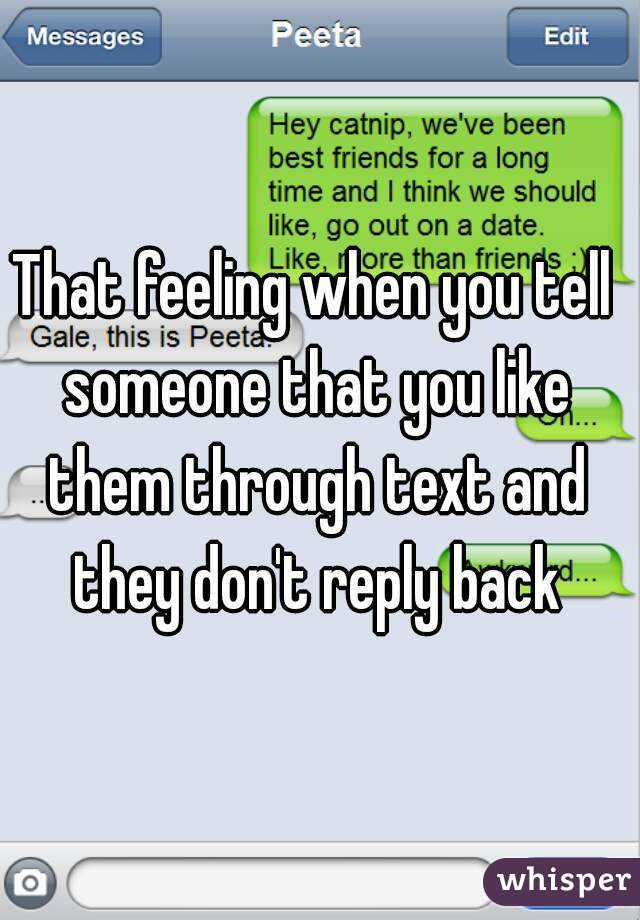 How To Tell Someone U Like Them Through Text