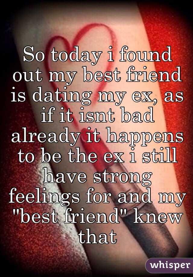 Dating your friend ex girlfriend
