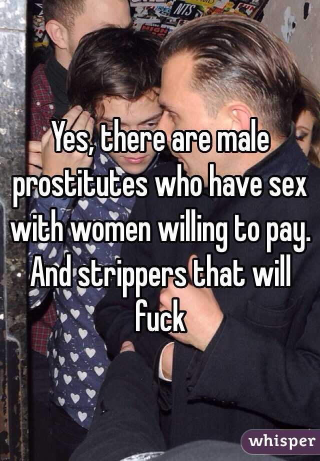 Willing to pay for sex