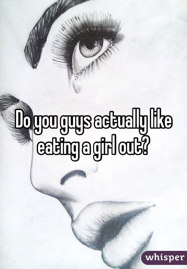why do guys like eating you out