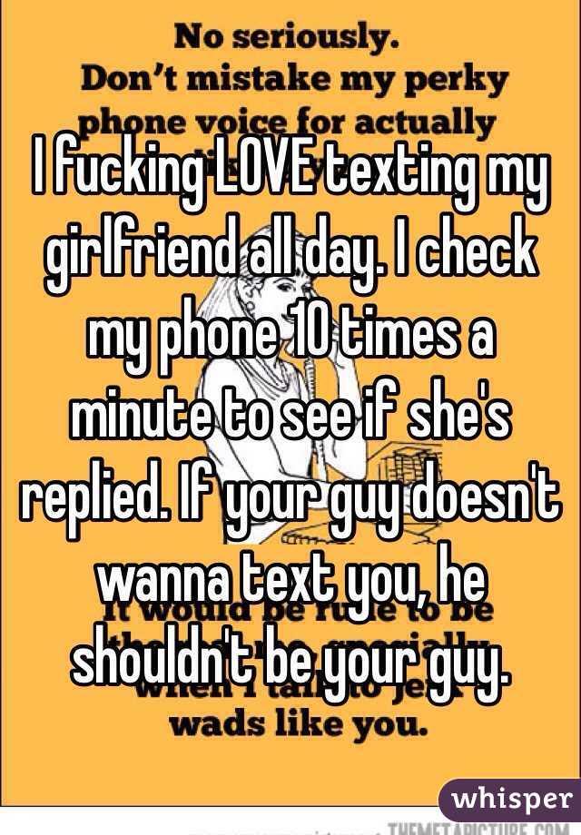 Fuck my girlfriend every day